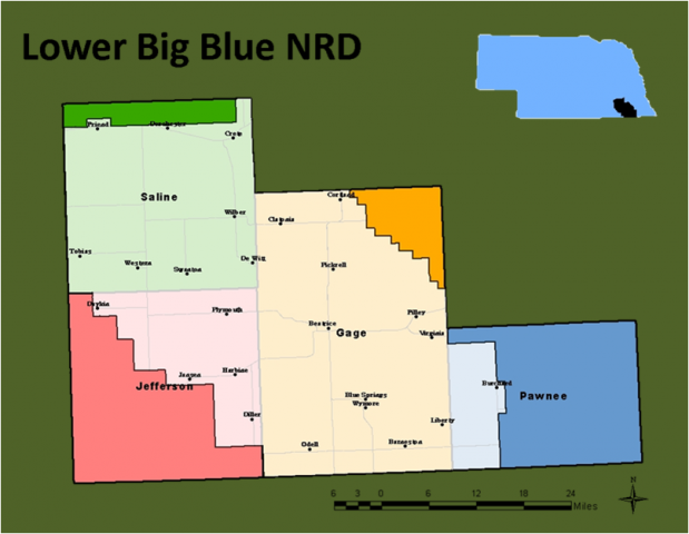 Big Blue Natural Resources District Nebraska